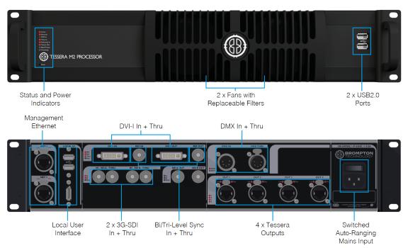 Brompton Tessera M2 HD Processor